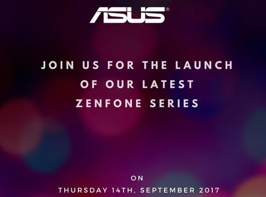 Asus New Zenfone Series India launch invite