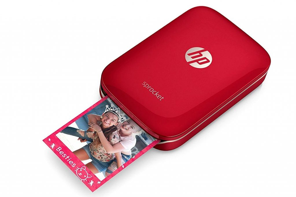 Hp Sprocket Compact Photo Printer With Bluetooth Launched