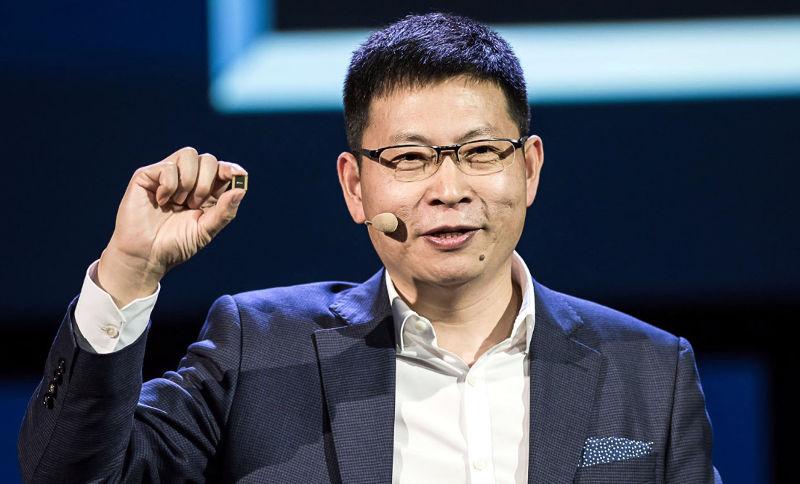 Huawei Kirin 970 announcement Richard Yu
