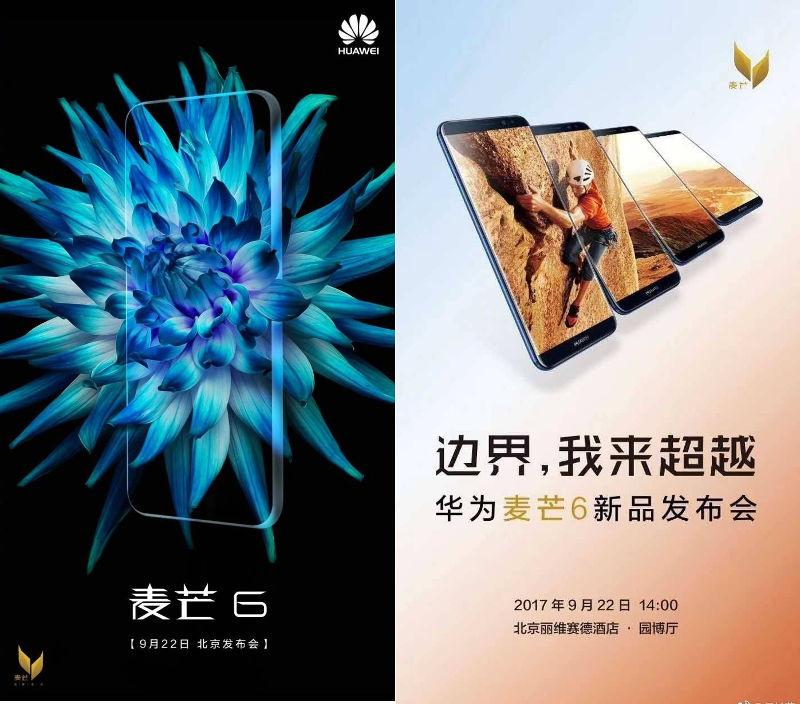 Huawei Maimang 6 invite