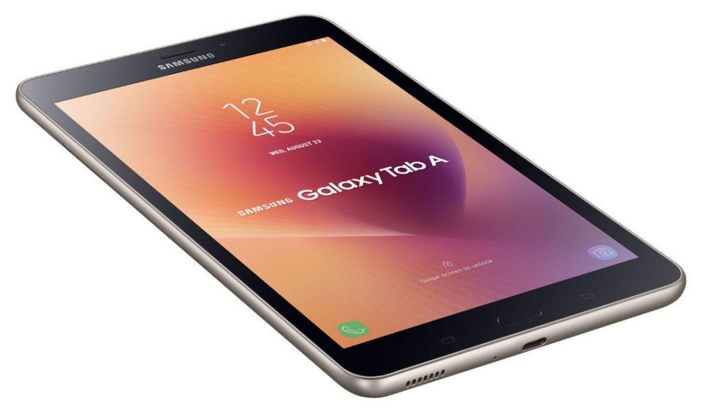 Samsung Galaxy Tab A (2017) with 8-inch display, 4G LTE ...