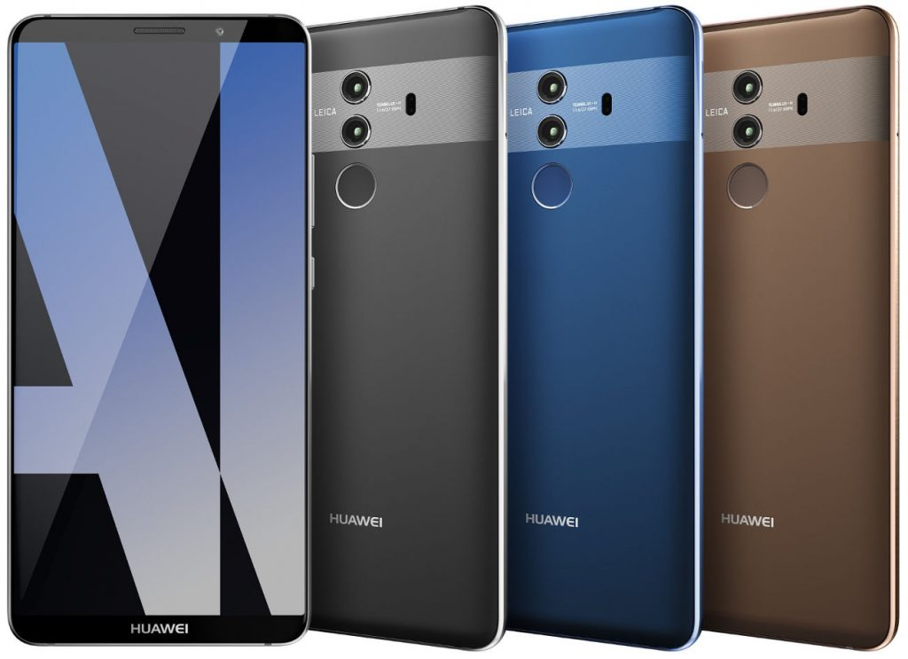 Huawei mate 10 pro with qhd full screen display for Housse huawei mate 10 pro
