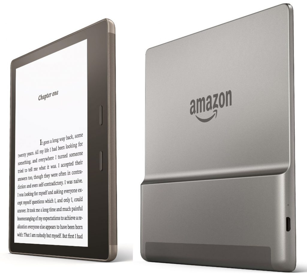 amazon introduces new kindle oasis with 7 inch display