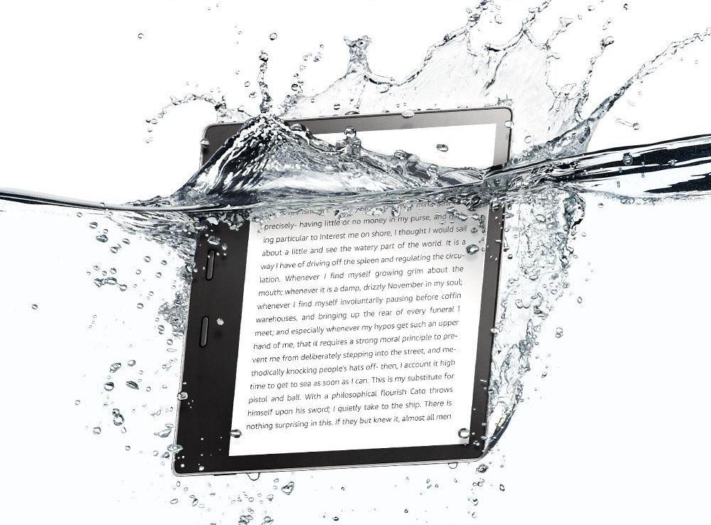 Kindle Oasis 2017 waterproof