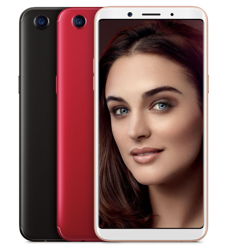 OPPO F5 with 6-inch FHD+ full-screen display, 20MP front ...
