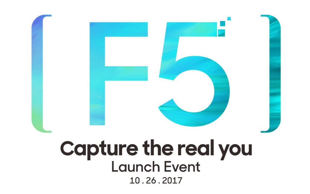 OPPO F5 October 26 invite