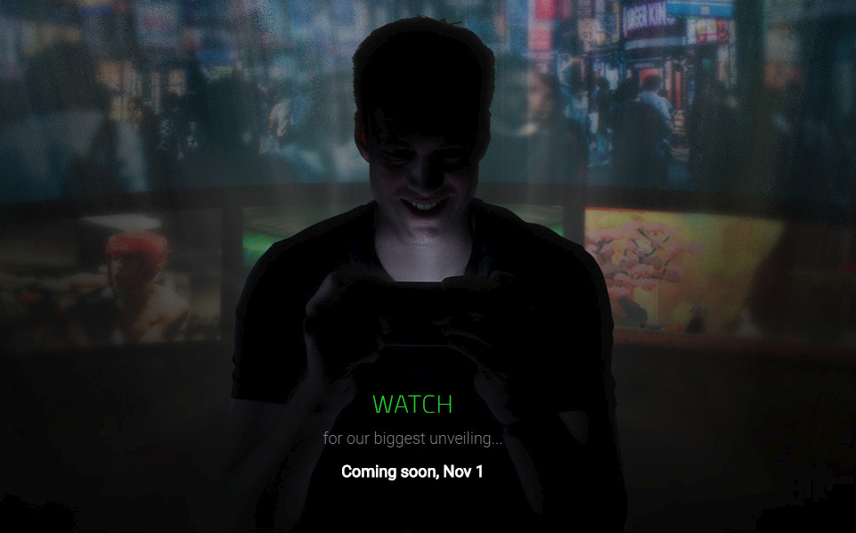 Razer November 1 teaser