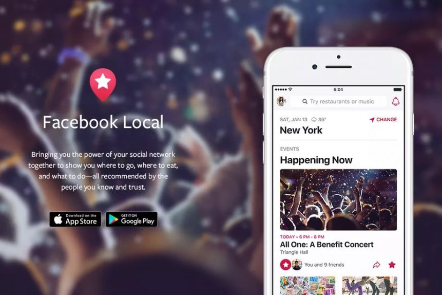 Facebook relaunches Events app as 'Facebook Local' for iOS and Android