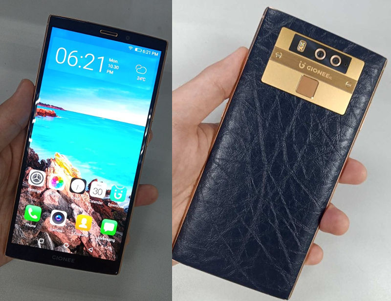 Gionee M7 Plus leak