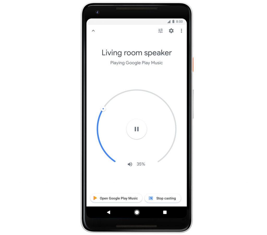 Google Home contols v1.26
