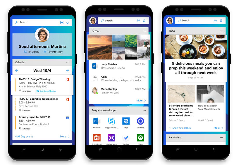 Microsoft Launcher beta update brings revamped home screen, theme support and more