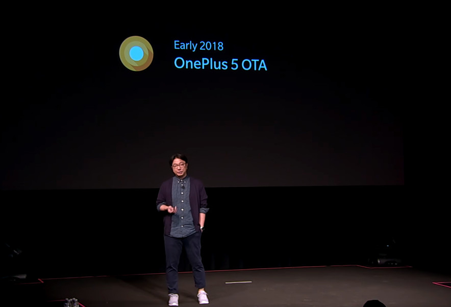 OnePlus 5 Android Oreo early 2018