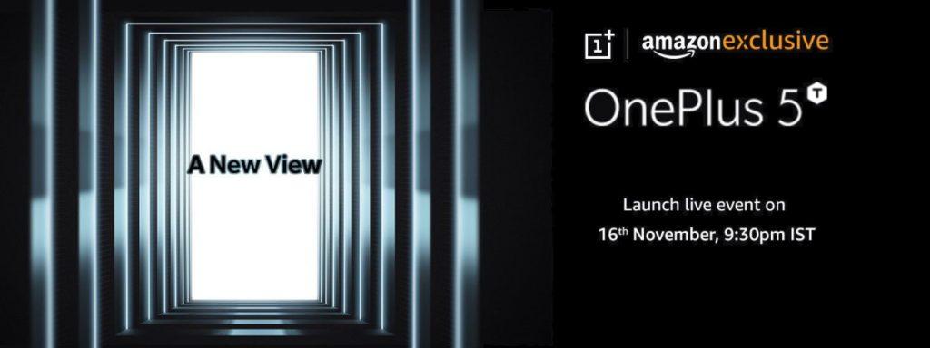 OnePlus 5T Amazon India