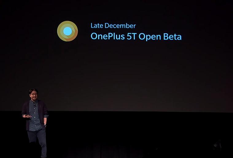 OnePlus 5T Android Oreo Open Beta