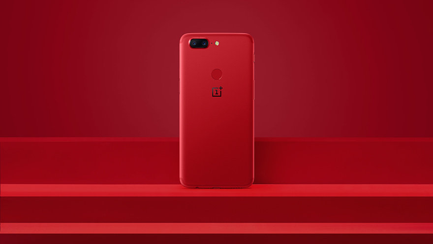 Oneplus Introduces Lava Red Oneplus 5t