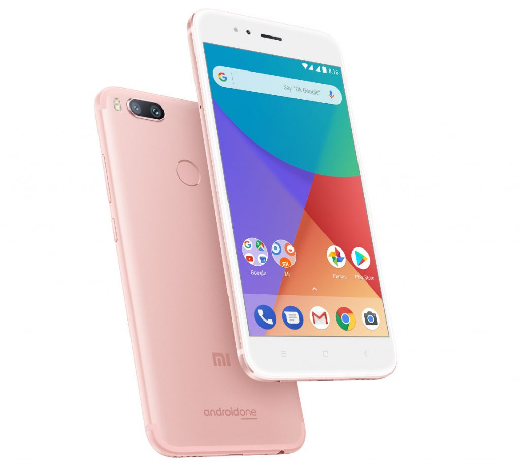 Xiaomi Mi A1 Rose Gold Variant Launched In India