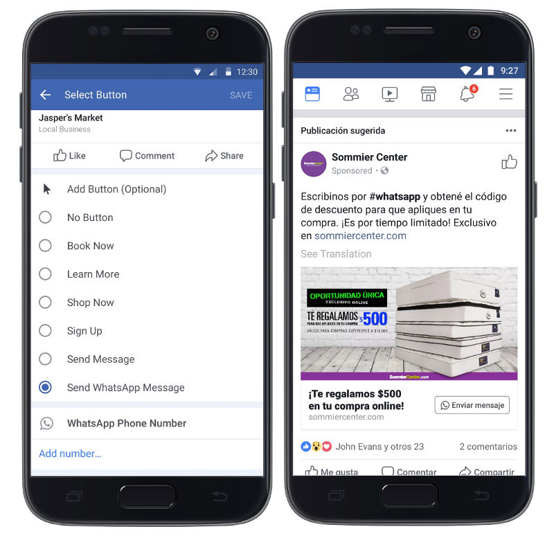 Facebook Ad Click-to-WhatsApp