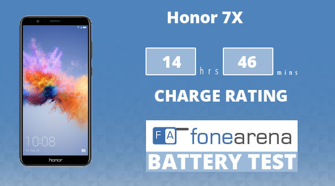 Honor 7X FoneArena One Charge Rating