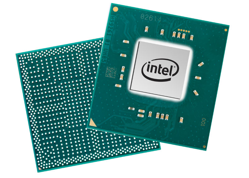 Intel Pentium Silver and Celeron chip