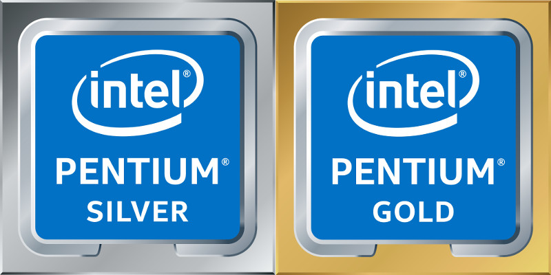 Intel Pentium Silver and Gold processors