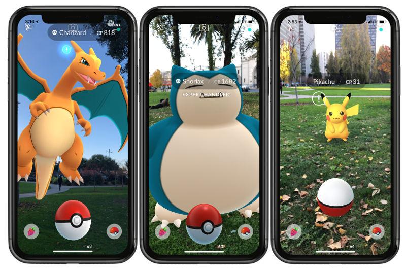 Pokemon Go iOS Advanced AR