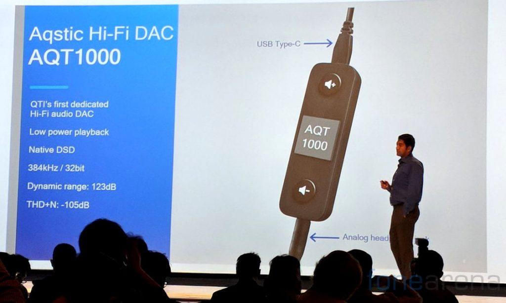 Qualcomm Aqstic Hi-Fi DAC AQT1000