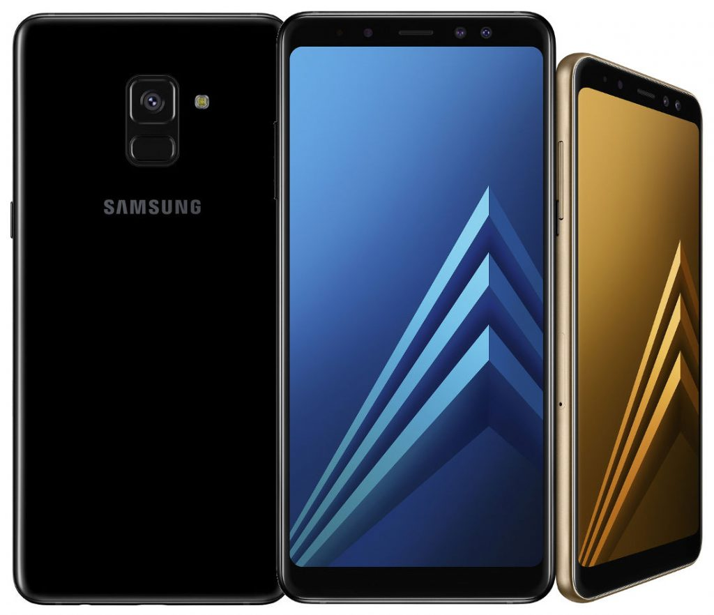 Samsung Galaxy A8 2018 And Galaxy A8 2018 With 5 6