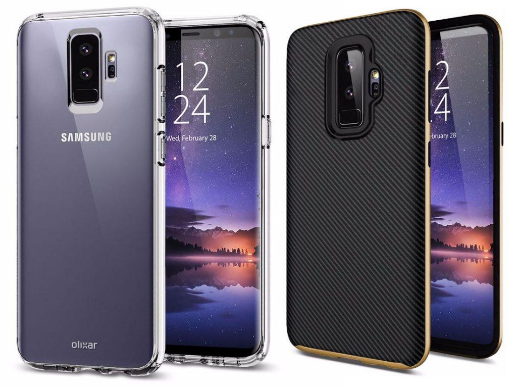 Samsung Galaxy S9 Plus Case Render