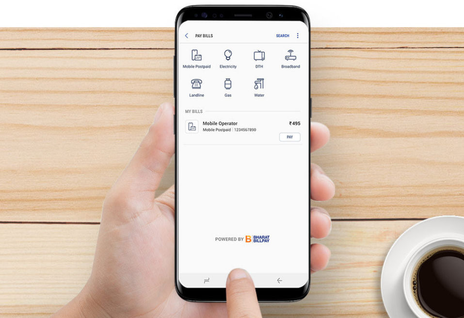 Samsung Pay Bill Payments