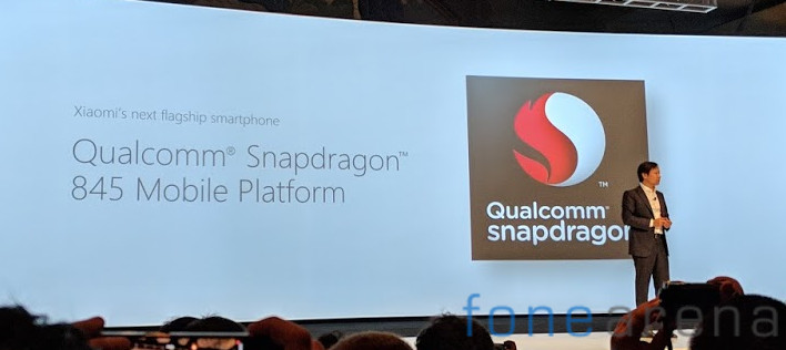 Xiaomi Flagship Snapdragon 845 Mobile Platfrom