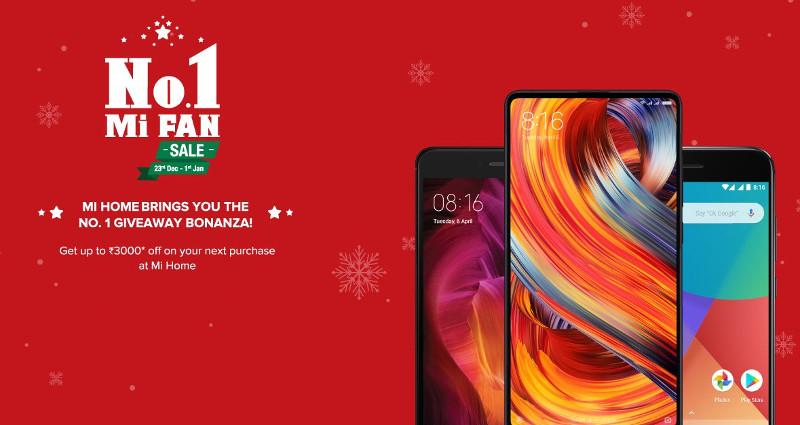 Xiaomi Mi Home No. 1 Mi Fan Sale from Dec 23 to Jan 1: Discounts on smartphones and accessories