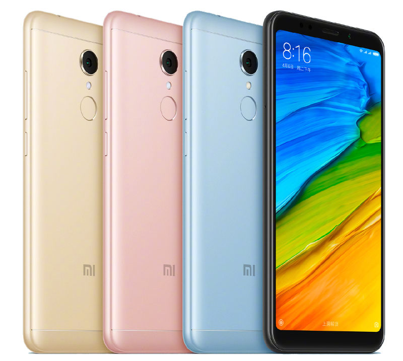 Xiaomi Redmi 5 and Redmi 5 Plus Colors