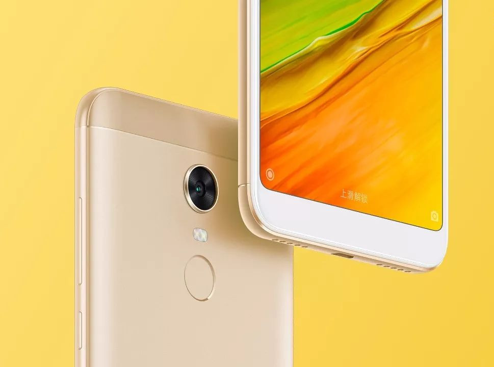 Xiaomi Redmi Note 5 With 18 9 Display And Front Led Flash: Xiaomi Redmi 5 And Redmi 5 Plus With Full-screen Display