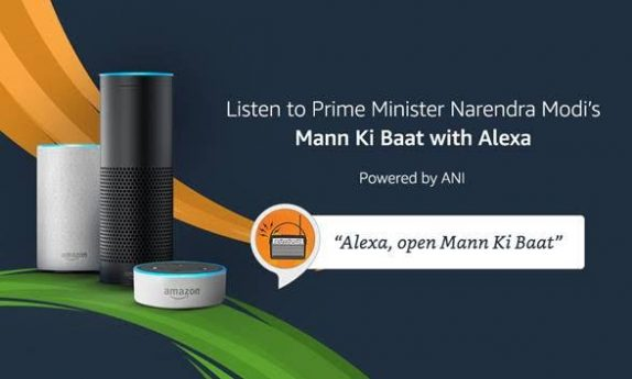 PM Modi's Mann Ki Baat now available on Alexa