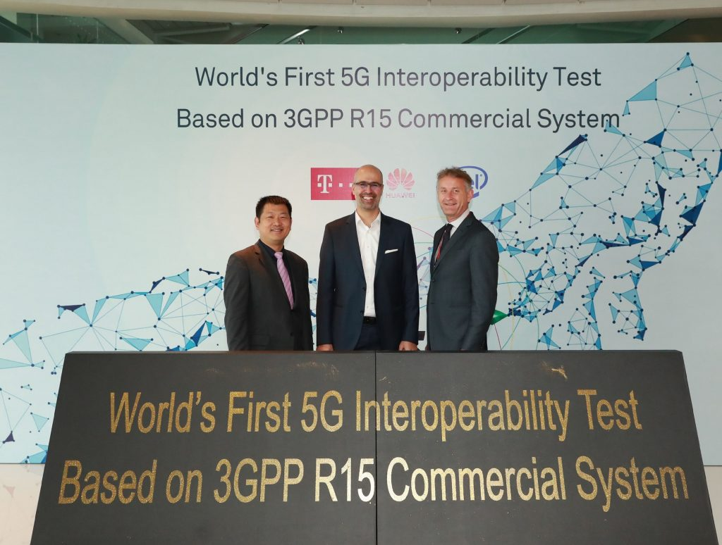 Huawei, Deutsche Telekom and Intel achieve 5G NR Interoperability
