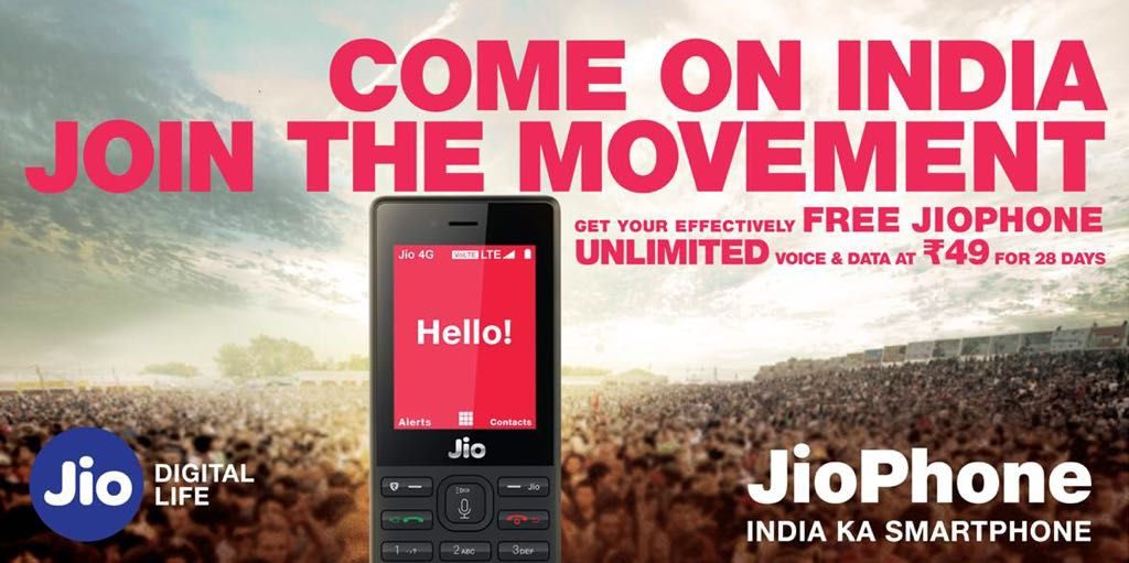 Reliance Jio launches Rs. 49 pack with free voice calls, 28 days validity for JioPhone users