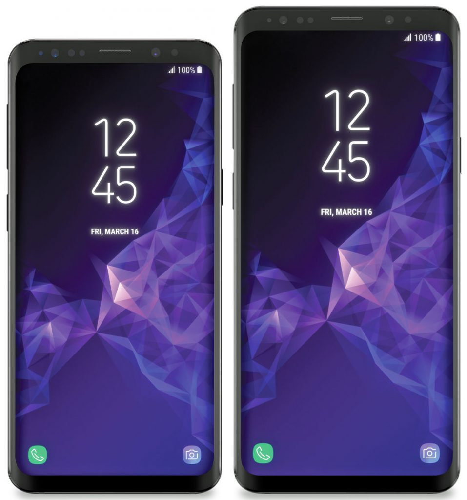 Samsung Galaxy S9 and Galaxy S9+ surface in first press images