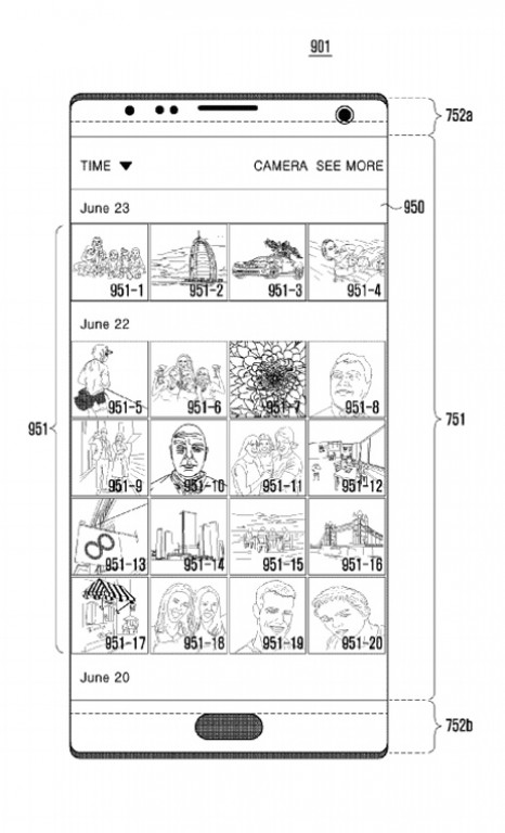Samsung Patent files
