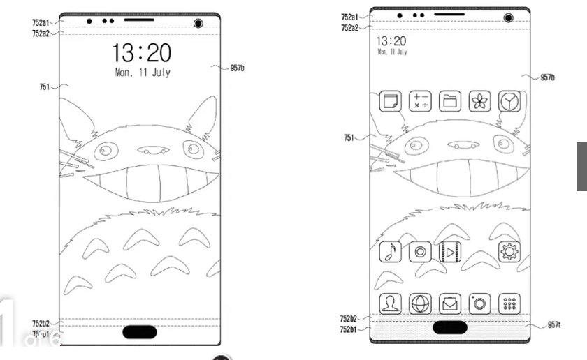 Samsung patent files hint at in-display fingerprint sensor ...