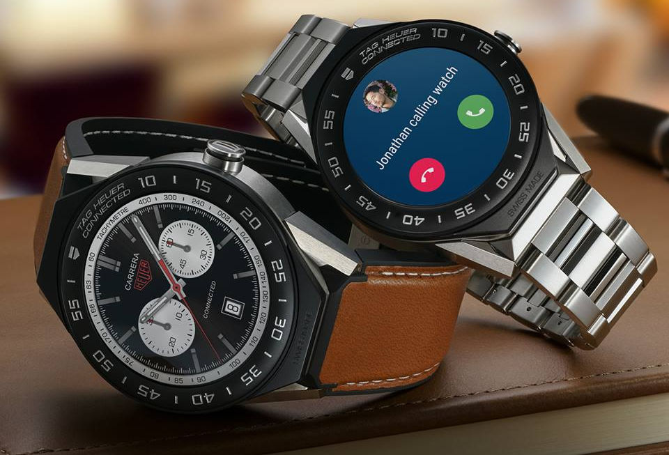 TAG Heuer Connected Modular 41 Android Wear Smartwatch ...