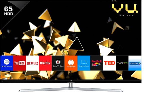 Vu 65-inch 4K HDR LED TV
