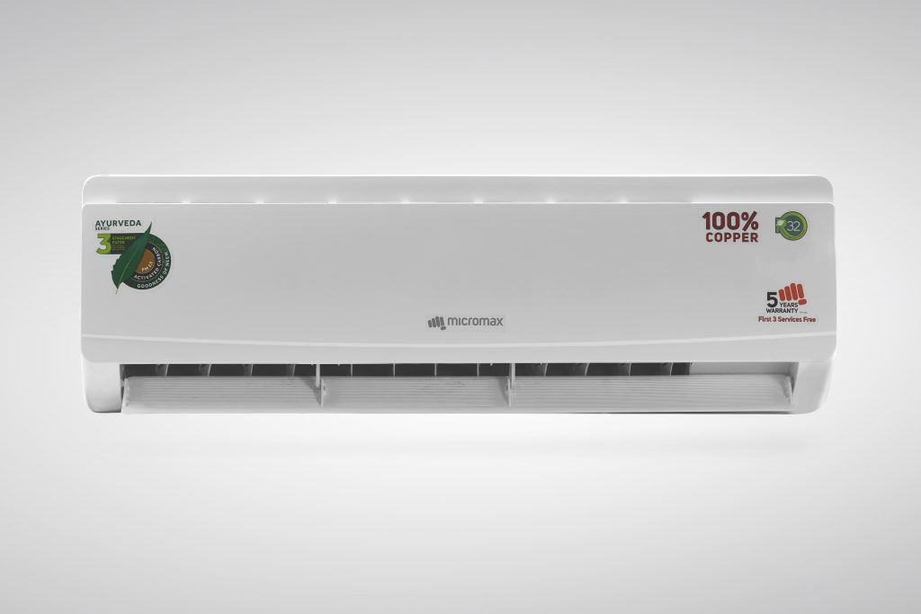 Micromax Ayurveda Series Air Conditioners launched starting at Rs. 29990