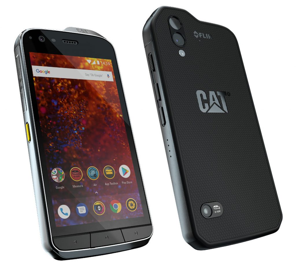 cat s61 rugged android smartphone with enhanced thermal camera indoor air quality sensor. Black Bedroom Furniture Sets. Home Design Ideas