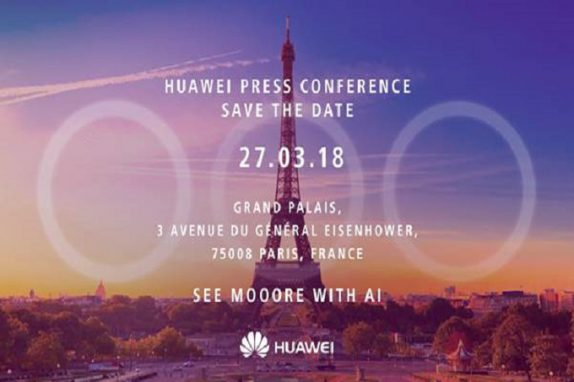 Huawei schedules an event on March 27 in Paris, P20 and P20 Plus with triple rear cameras expected