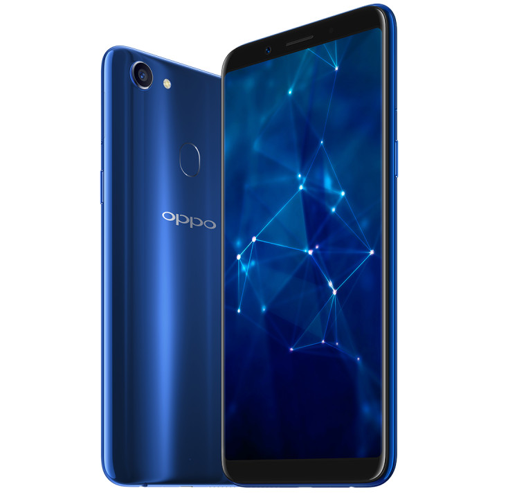 Oppo F5 Sidharth Limited Edition In Dashing Blue Color