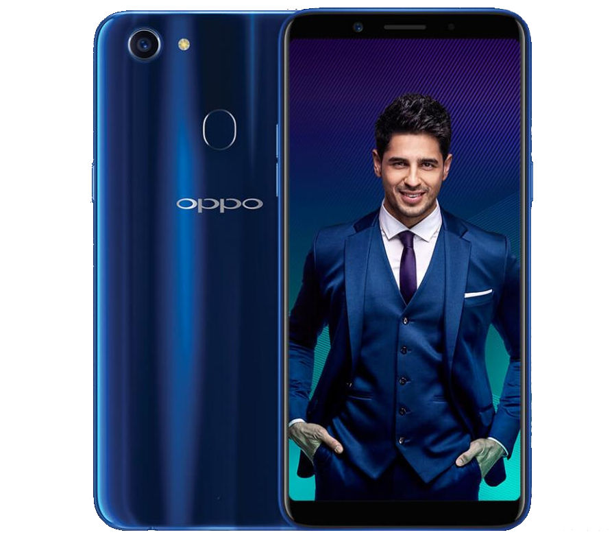 OPPO F5 Sidharth Limited Edition in Dashing Blue color launched in India