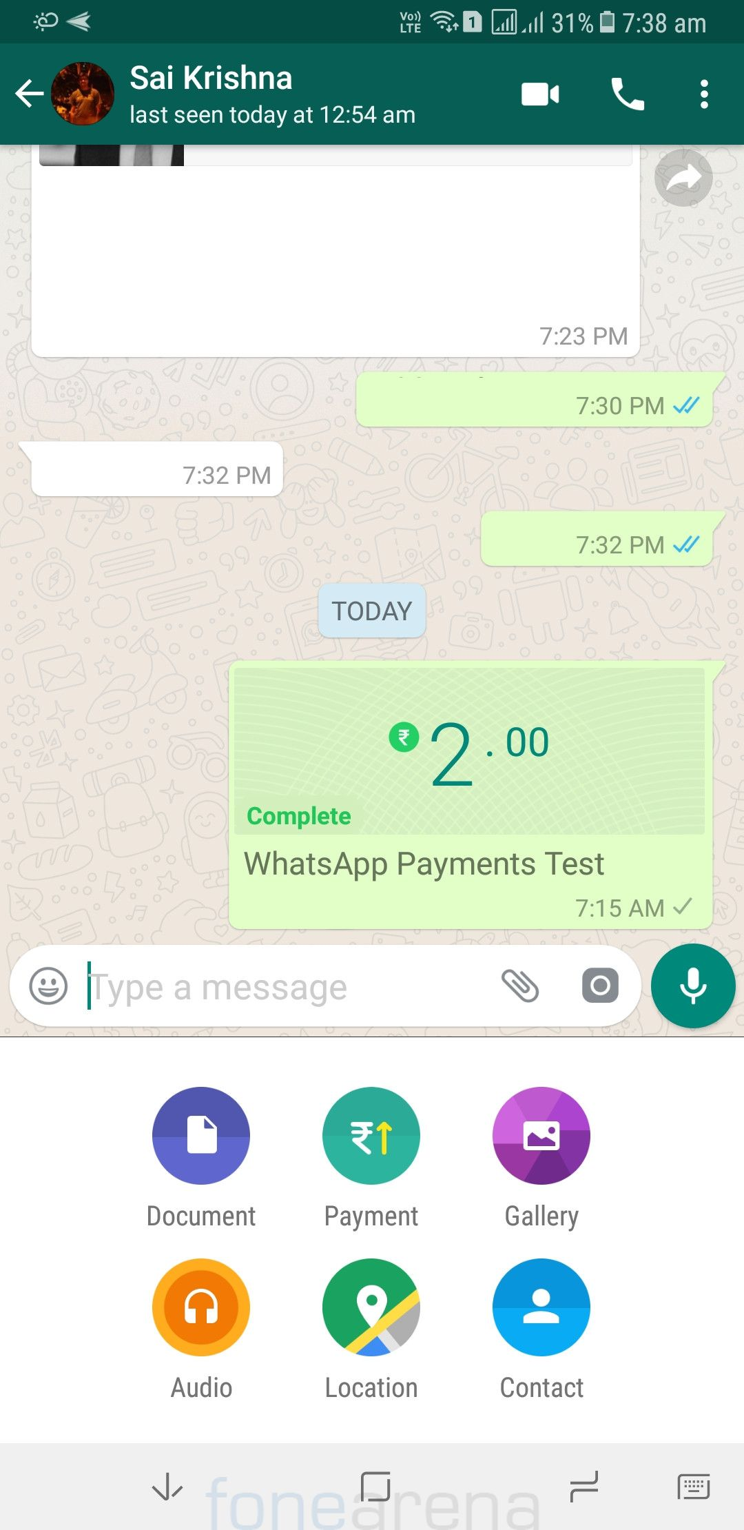 receive whatsapp images