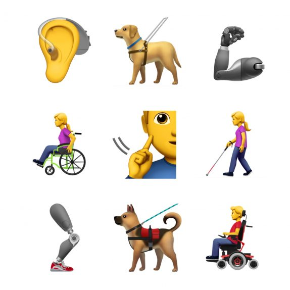 Apple proposes 13 new accessibility emojis to be included in Emoji 12.0