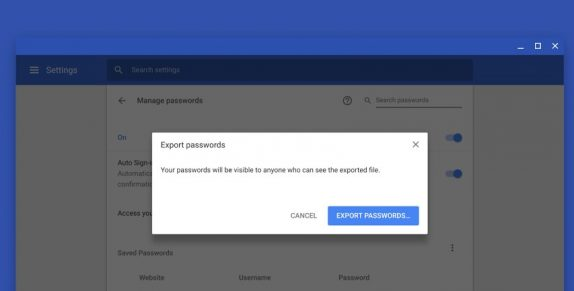 Google Chrome Save_Password
