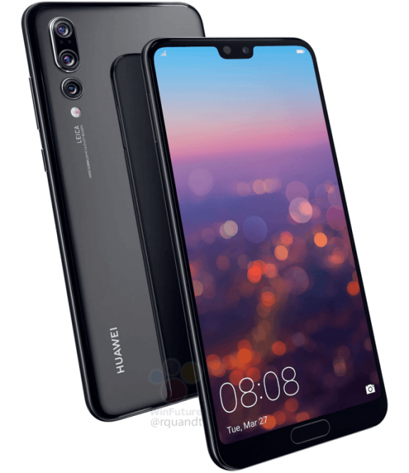 Huawei P20 Pro with triple rear Leica-cameras – 40MP + 8MP ...